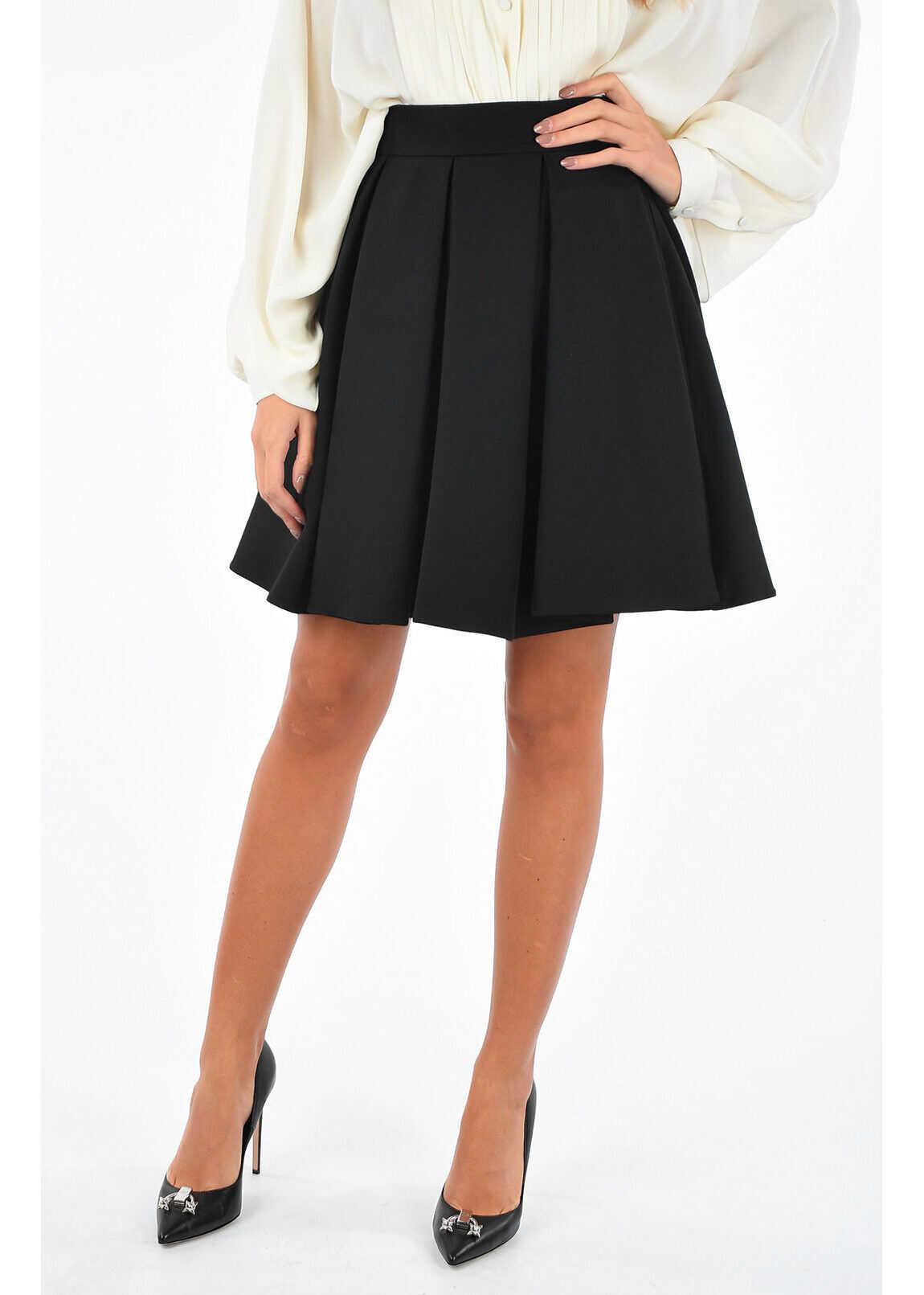 pleated circle skirt thumbnail