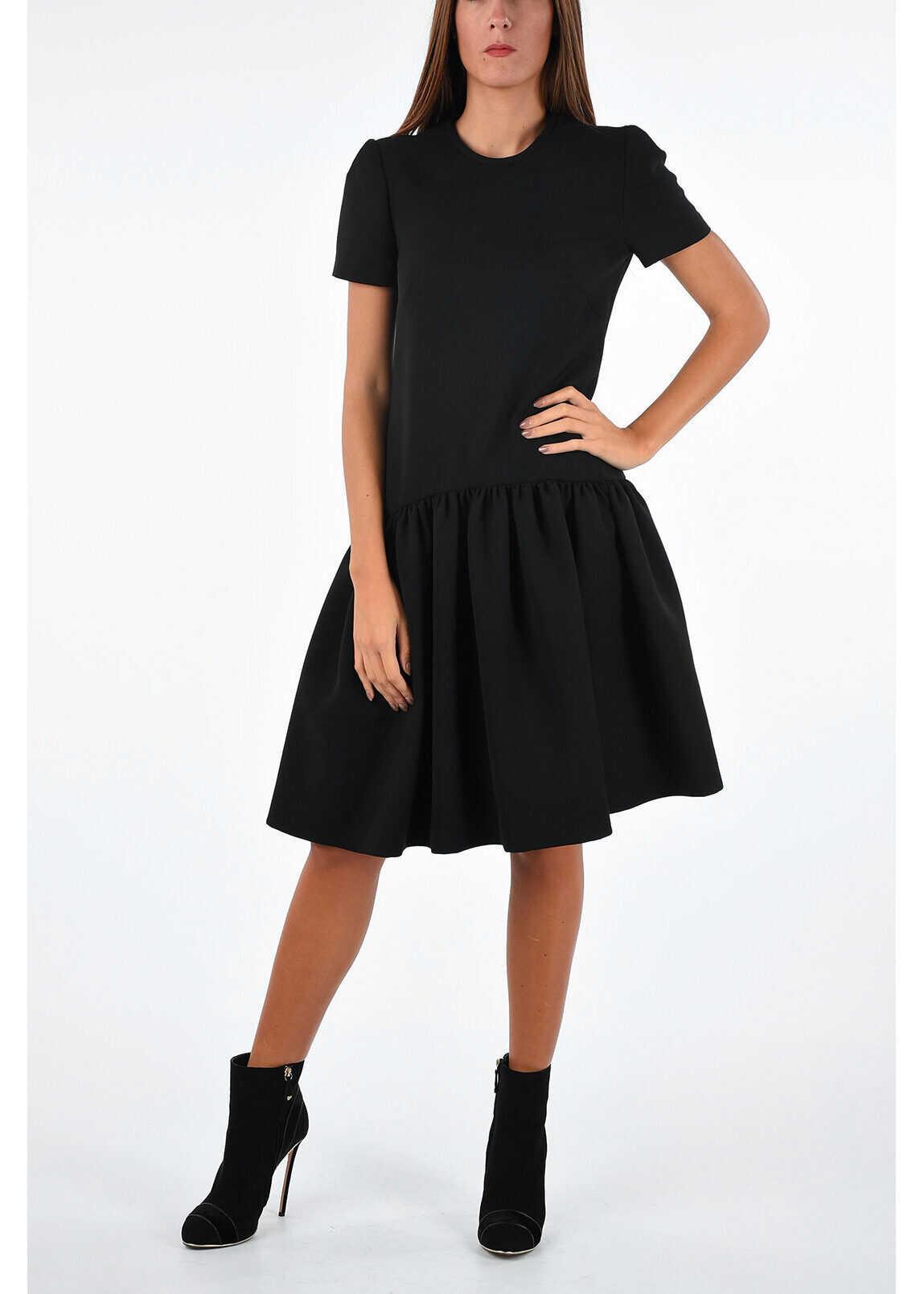 Alexander McQueen Drop Waist Dress BLACK