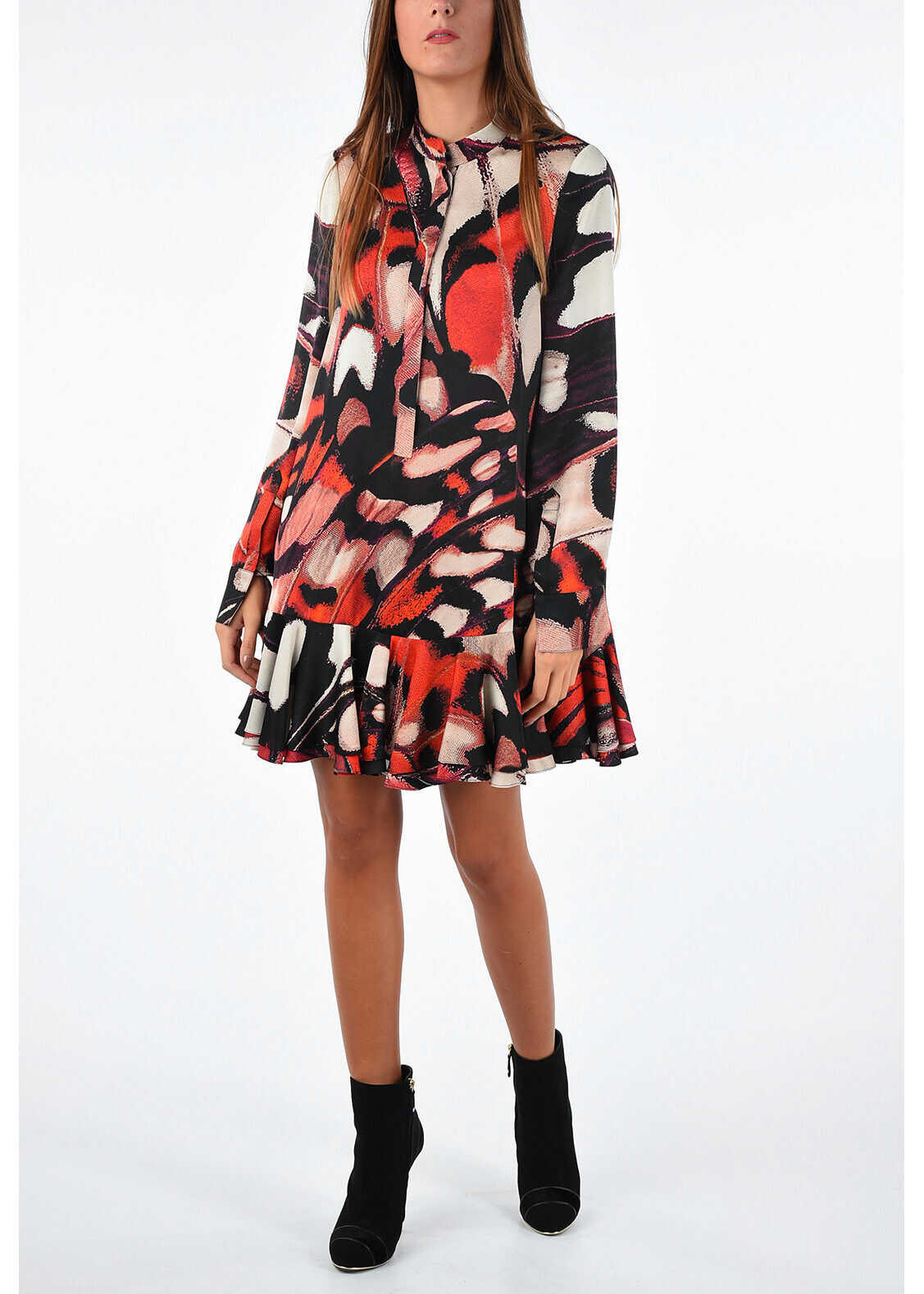 Silk Printed Dress thumbnail