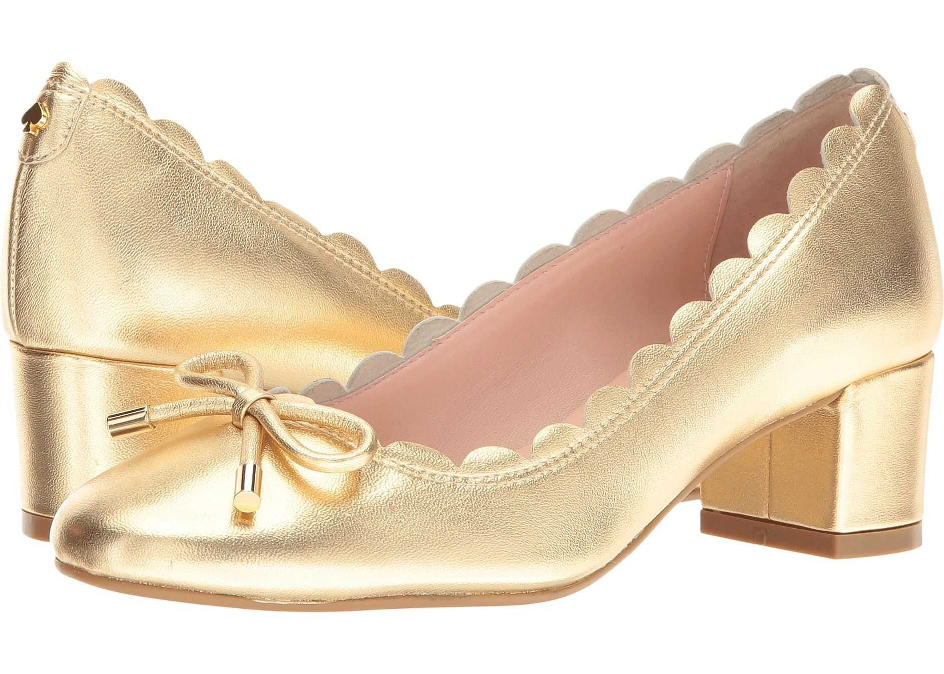 Kate Spade New York Yasmin* Gold Metallic Nappa