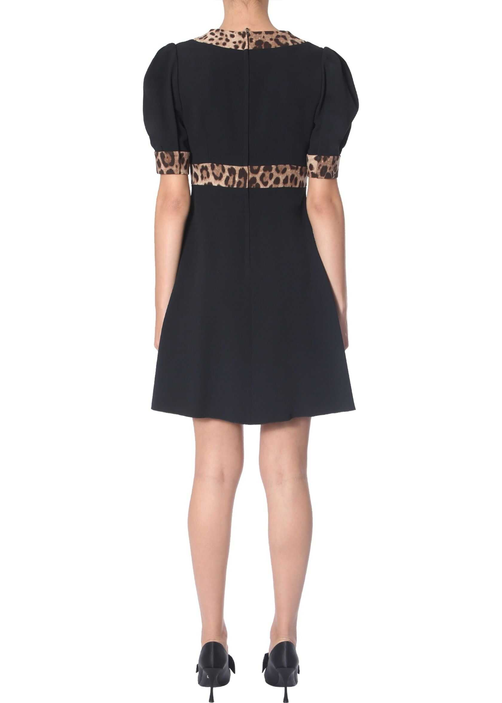Dolce & Gabbana Short Dress BLACK