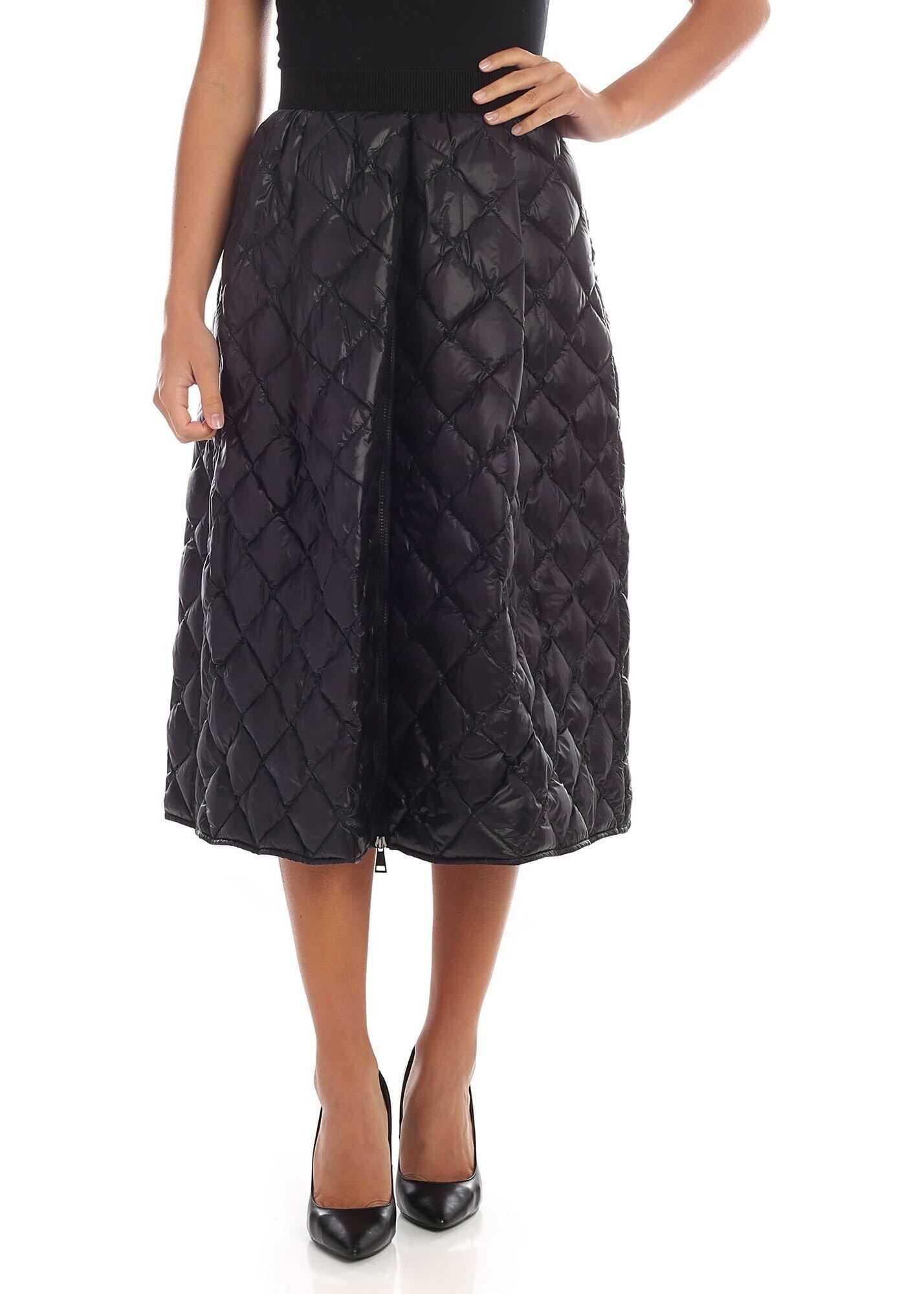 Black Padded Skirt thumbnail