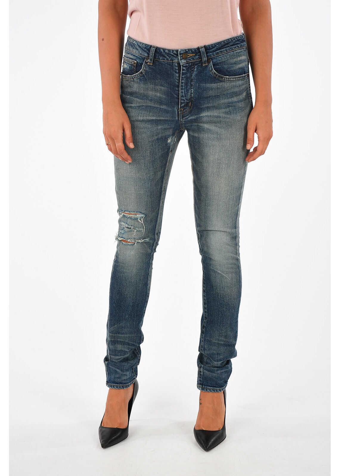 14cm Denim Distressed Jeans thumbnail