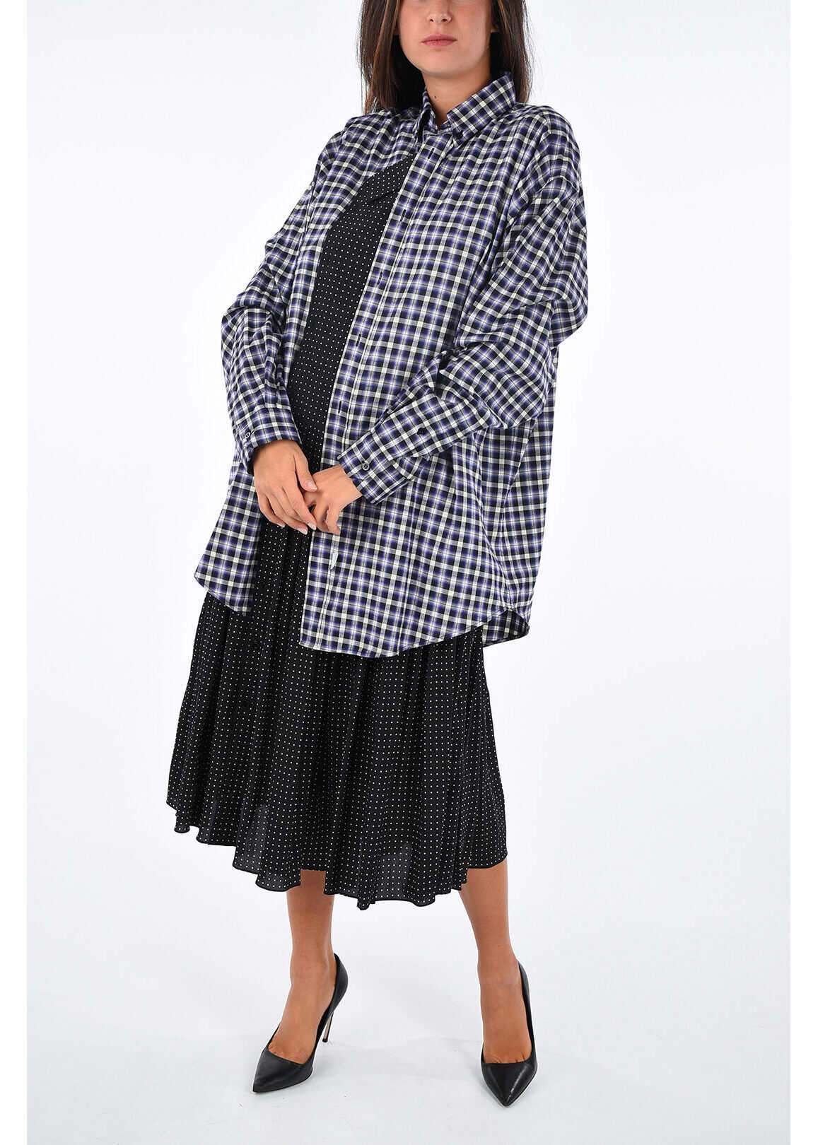 Checked Polka Dots Dress thumbnail