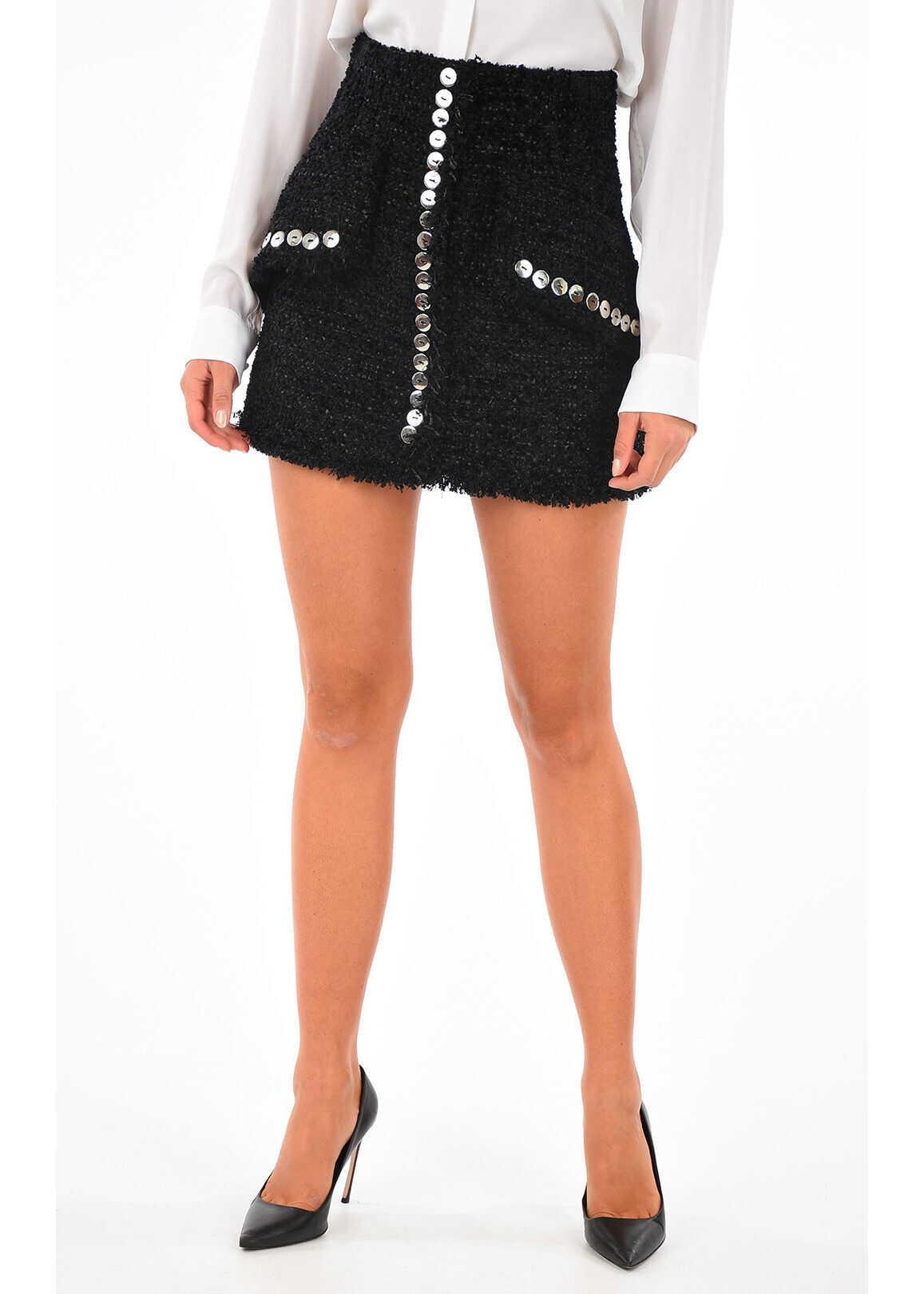 Alexander Wang High Rise Skirt BLACK