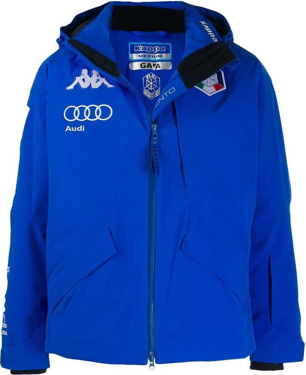 Kappa Polyester Outerwear Jacket BLUE