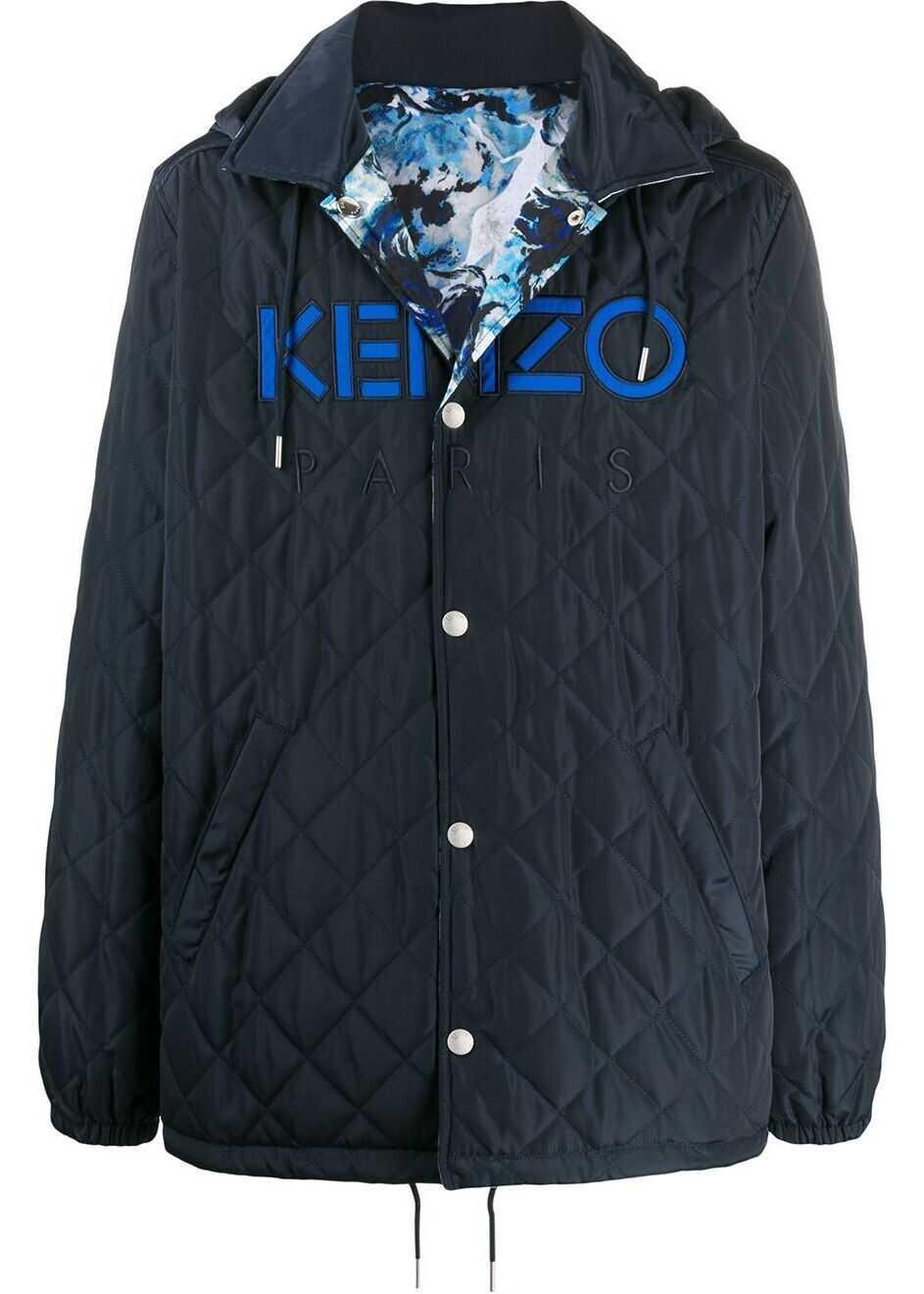 Kenzo Polyester Coat LIGHT BLUE