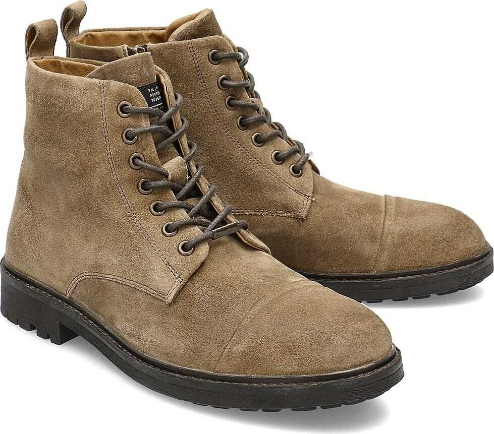 Pepe Jeans Porter Boot Suede Brązowy