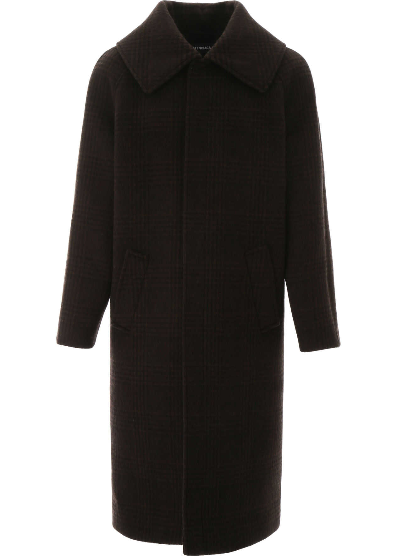 Balenciaga Incognito Coat BROWN