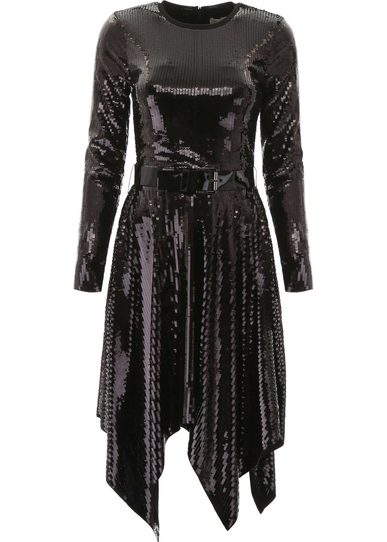 Michael Kors Sequined Dress BLACK