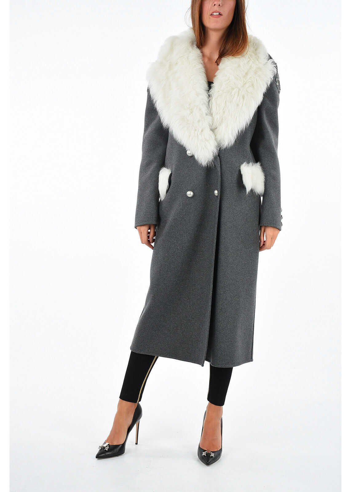 Coat with Real Fur Details thumbnail
