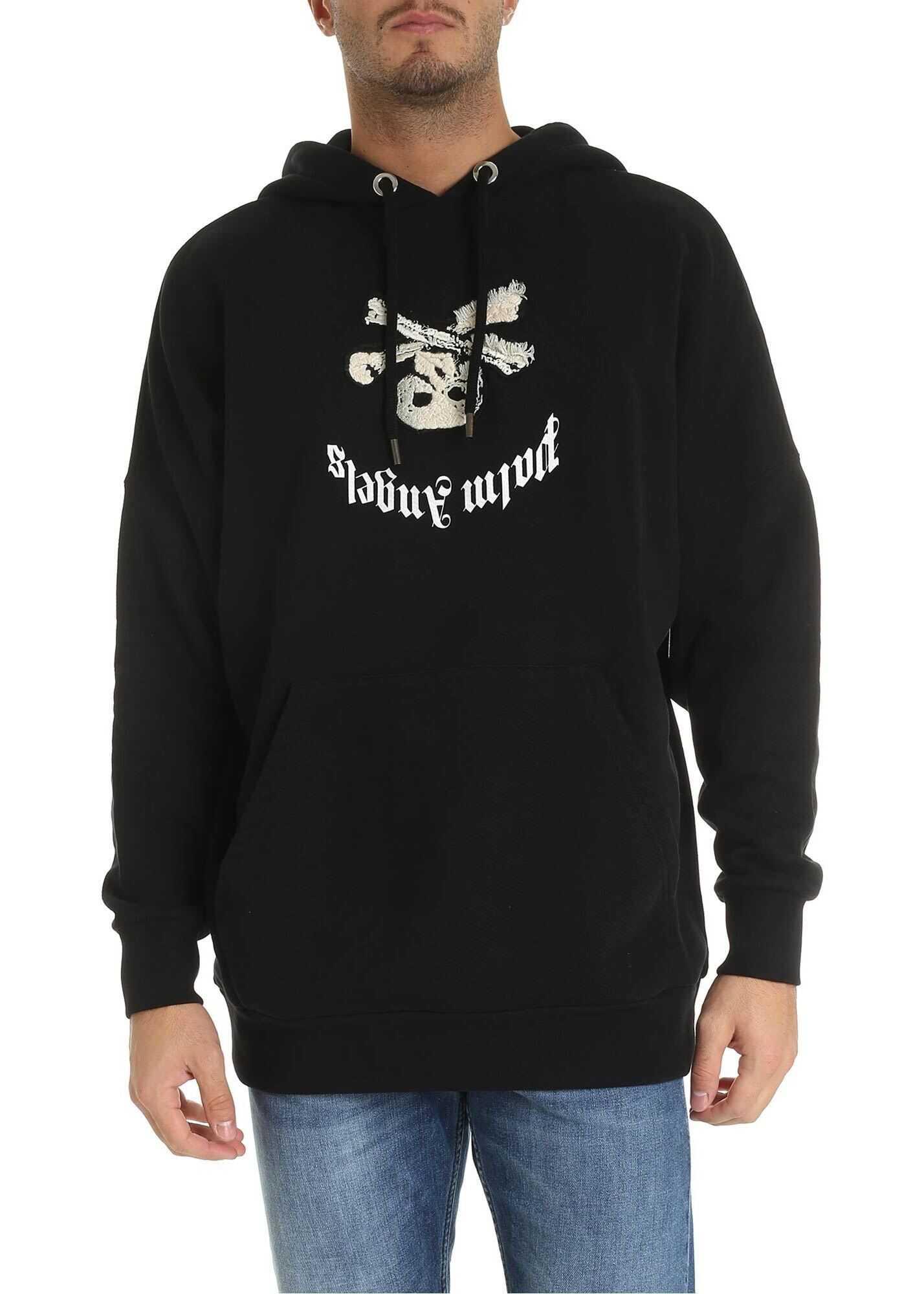 New Skull Hoodie In Black thumbnail