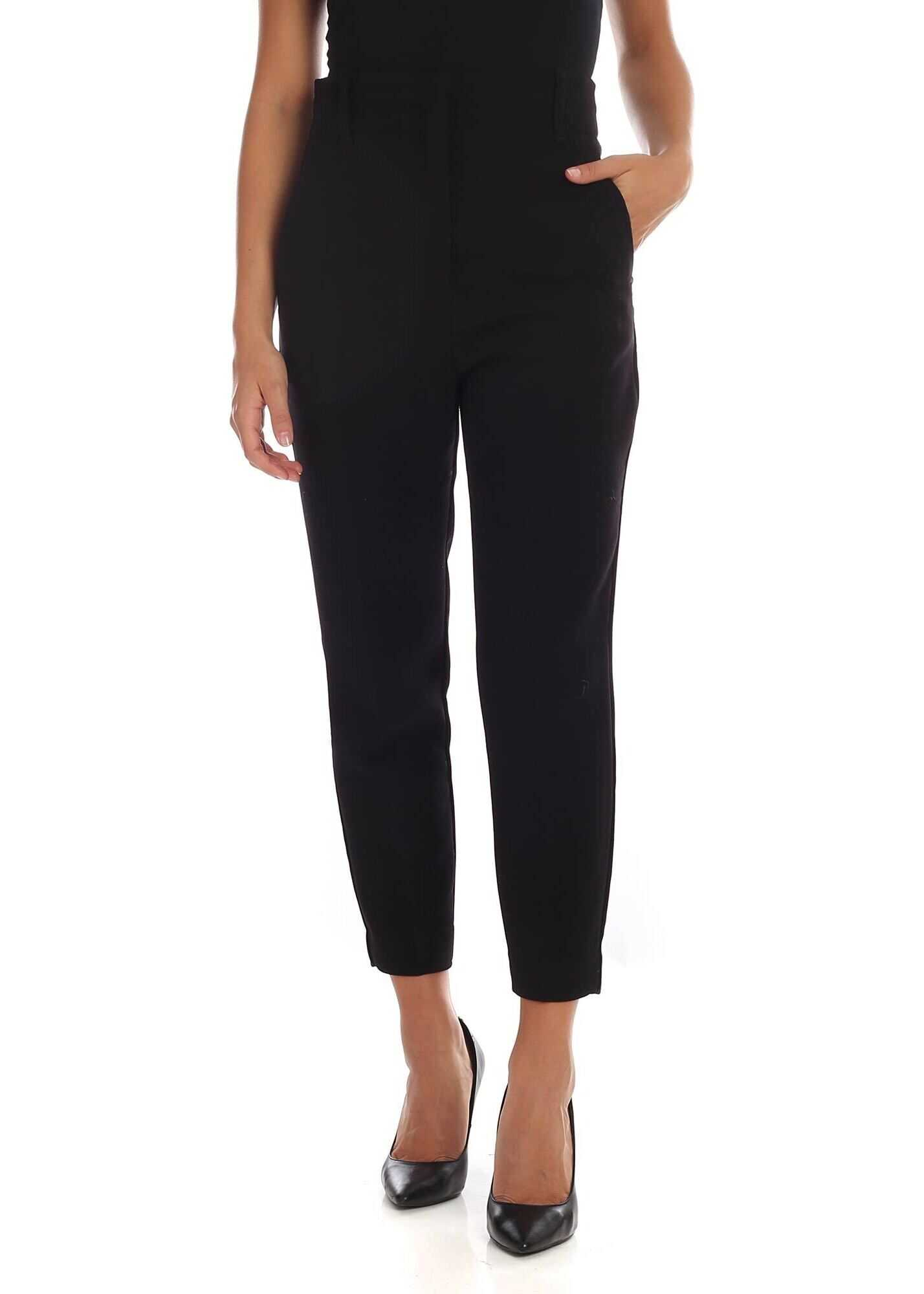 Tenerezza Trousers In Black thumbnail
