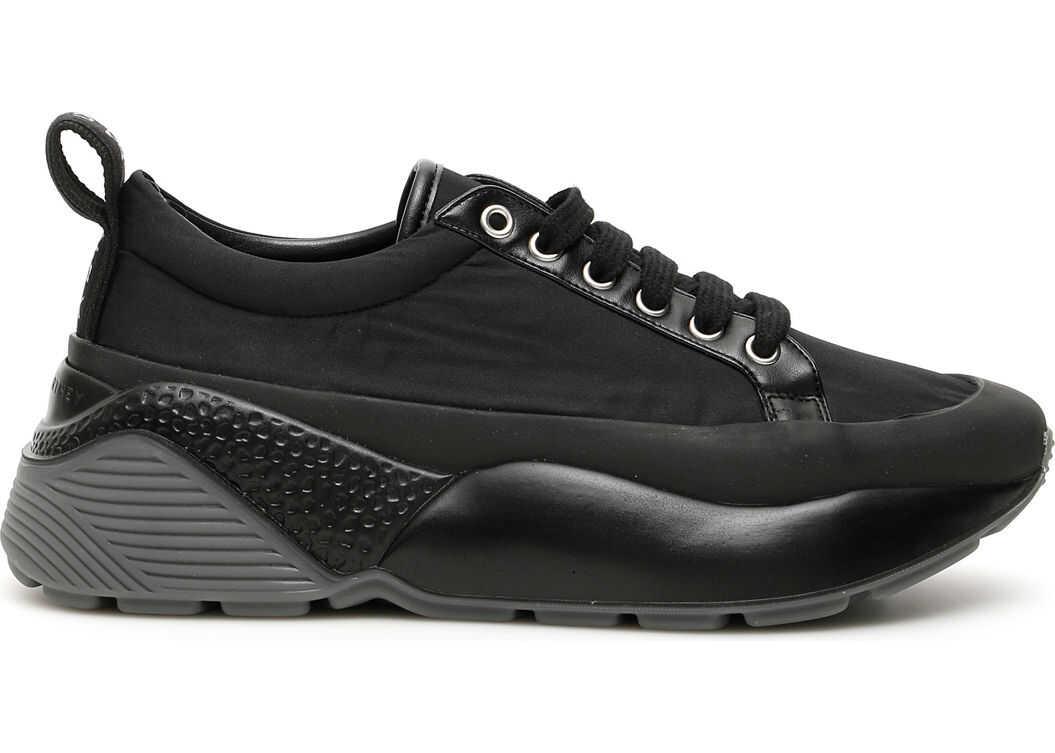 adidas by Stella McCartney 594128 W1UU1 BLACK WHITE