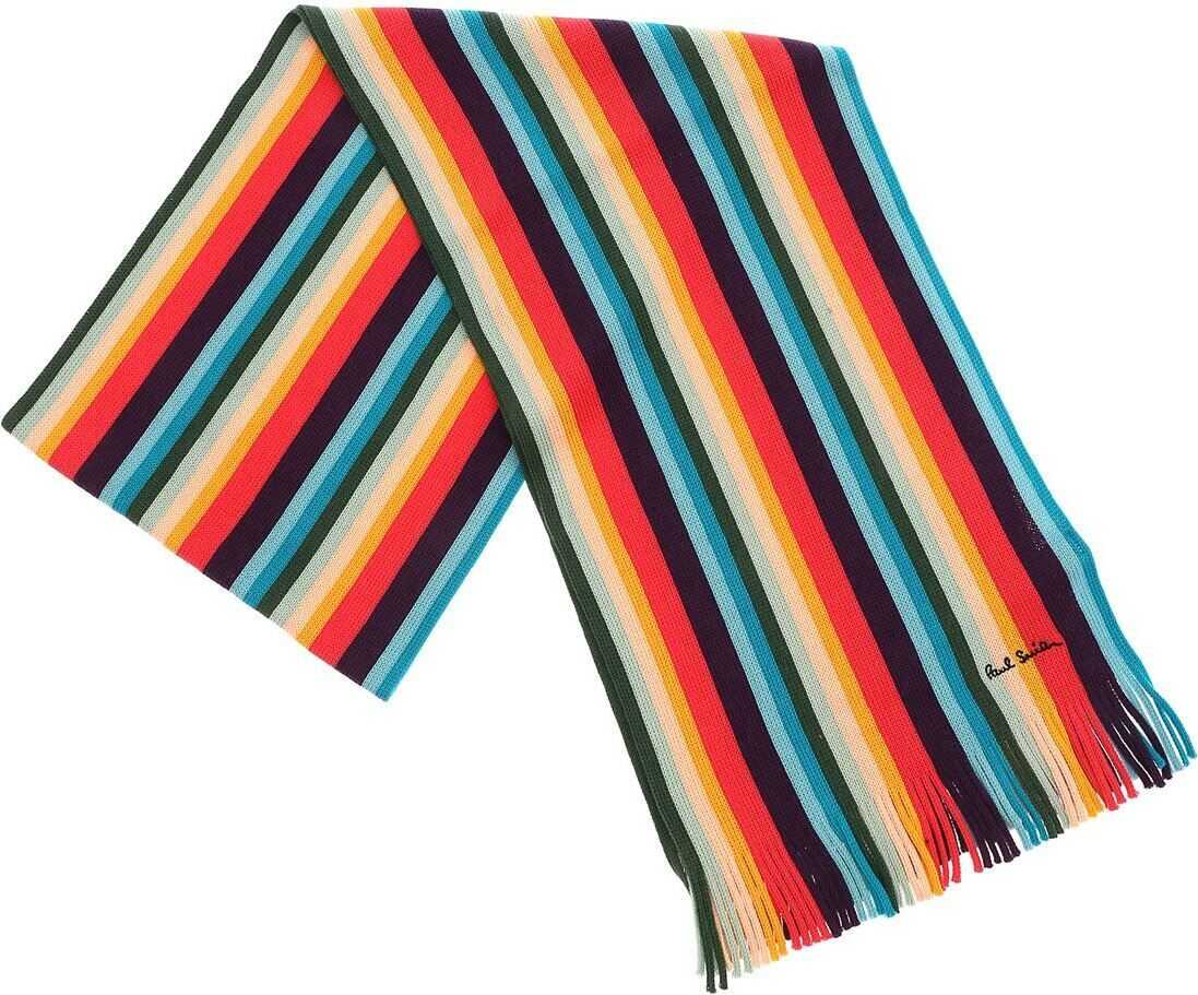 Multicolor Striped Scarf thumbnail