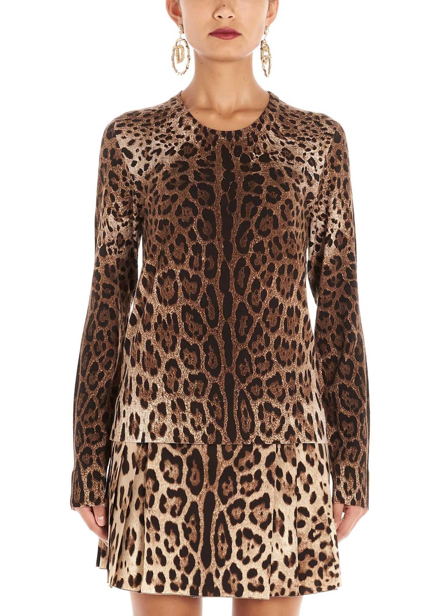 Dolce & Gabbana Wool Sweater BROWN