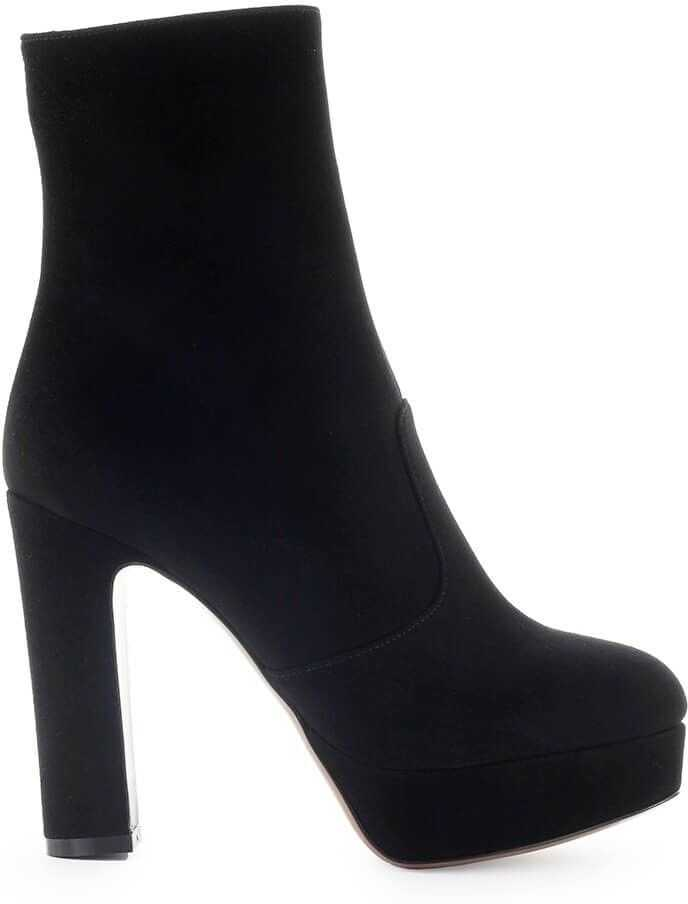 Suede Ankle Boots thumbnail