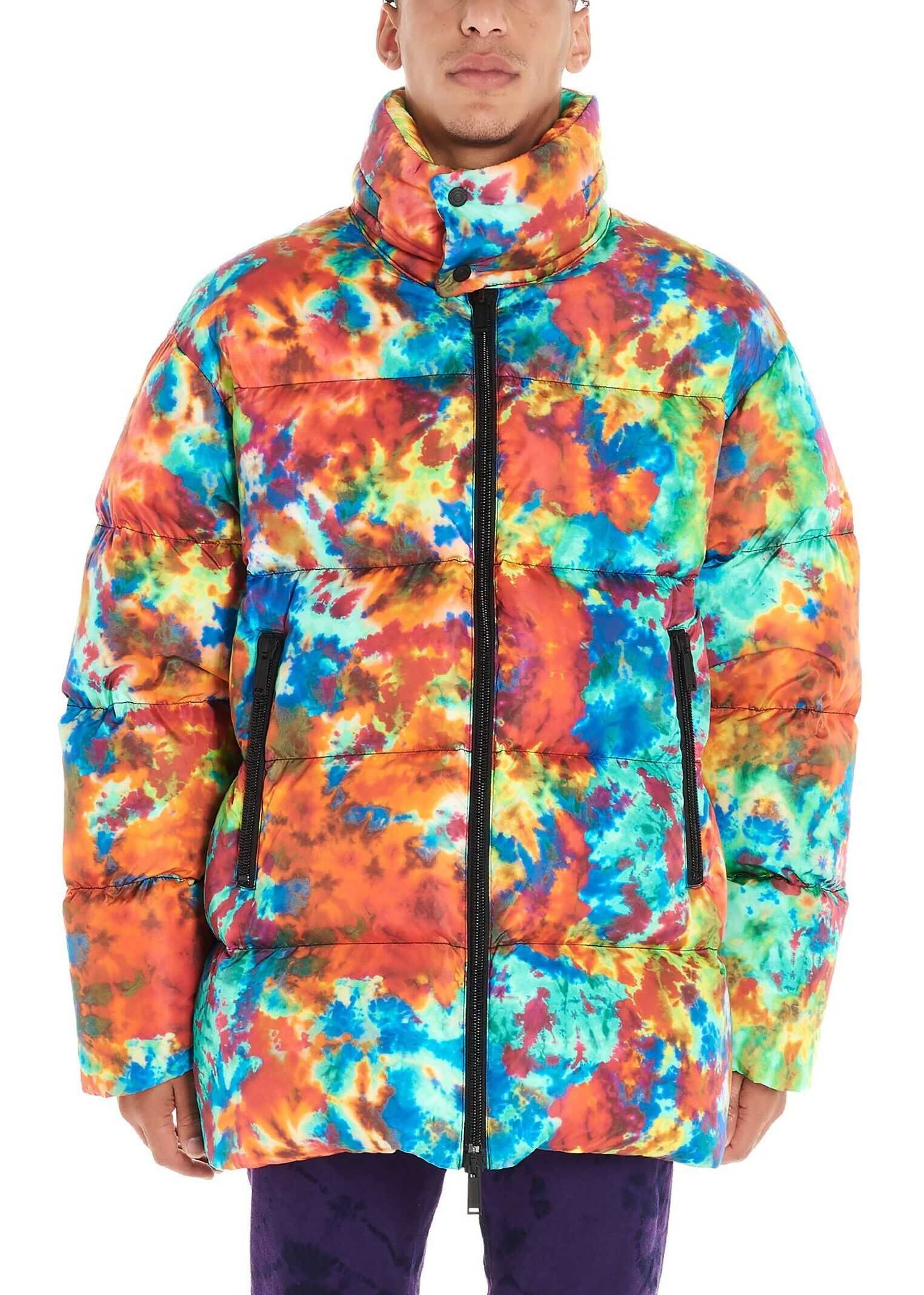 DSQUARED2 Polyamide Down Jacket MULTICOLOR