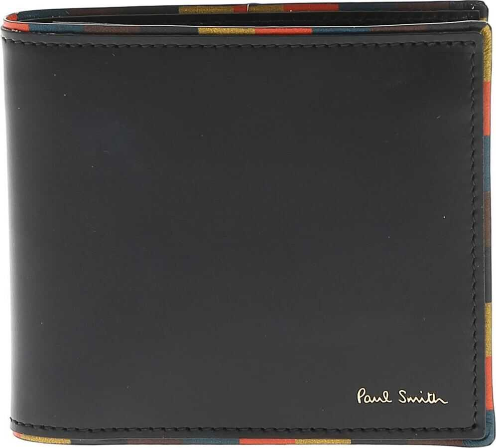Artist Stripes Edge Wallet In Black thumbnail