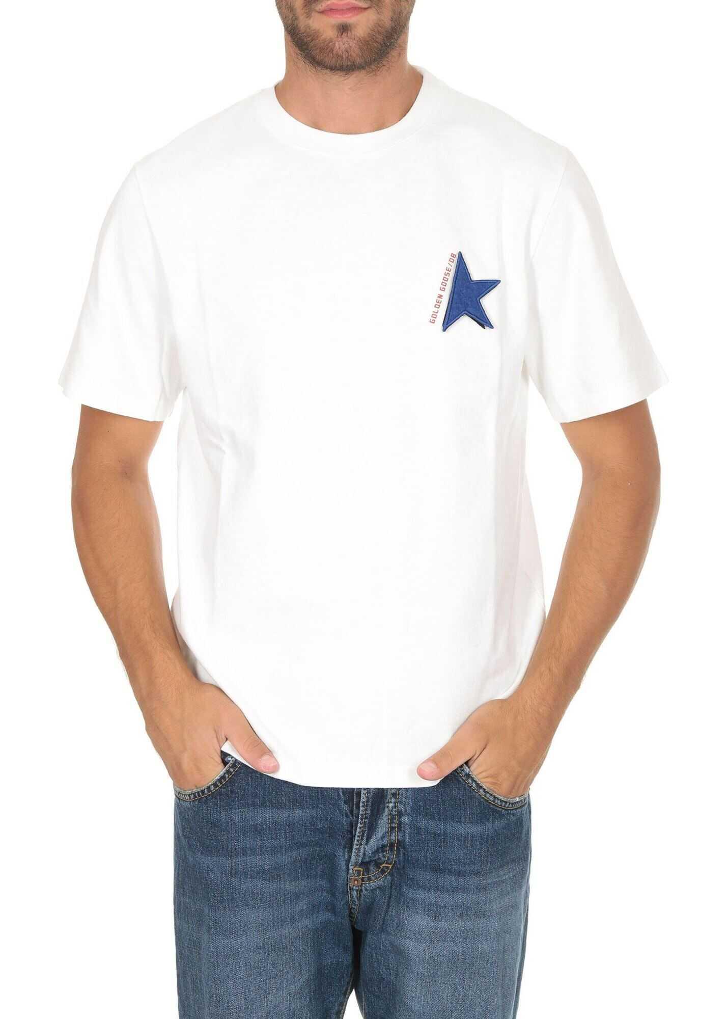 Golden Goose Golden T-Shirt In White White