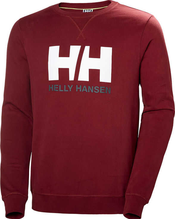 Helly Hansen Logo Crew Sweat Red