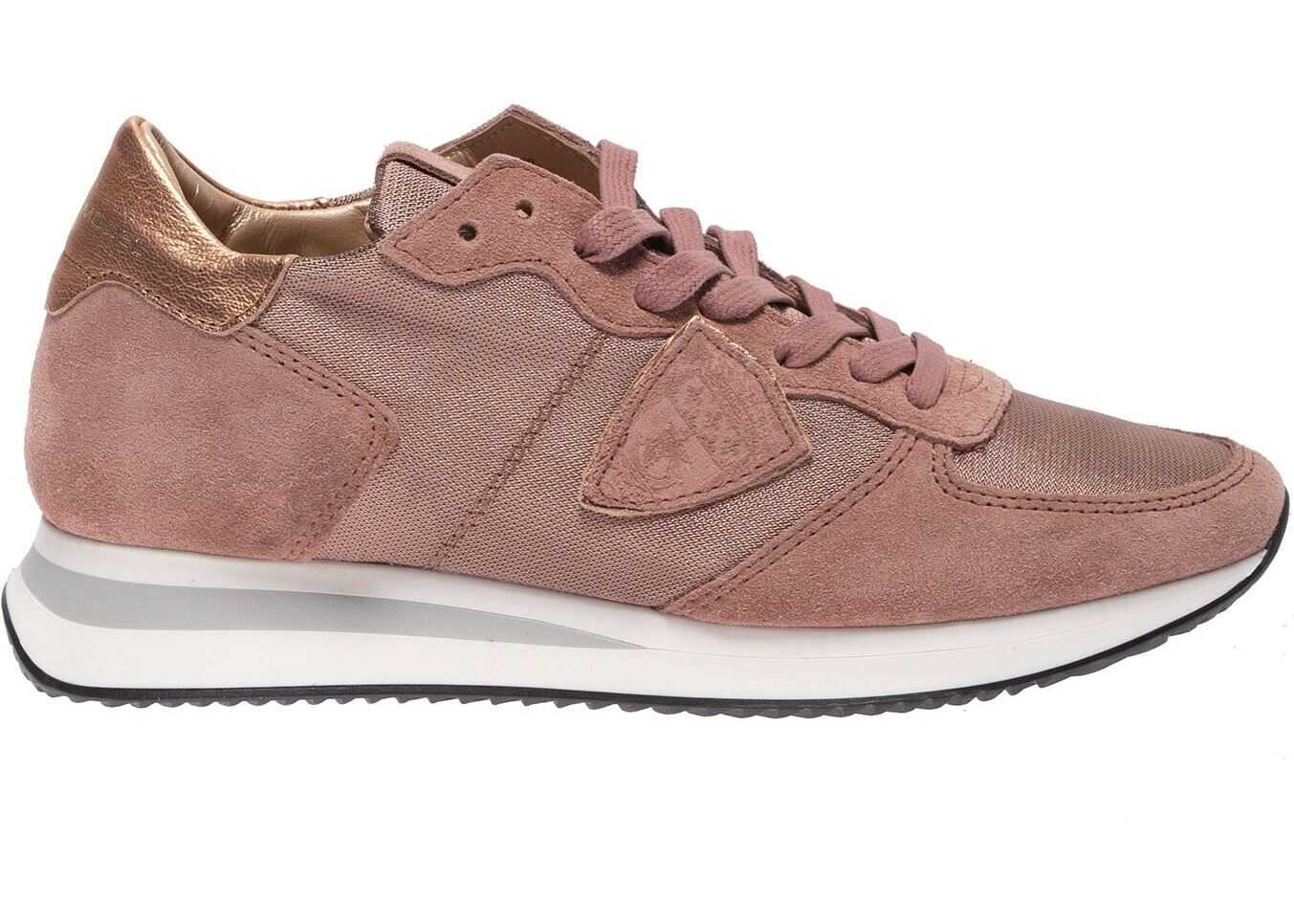 Philippe Model Trpx Sneakers In Pink Pink