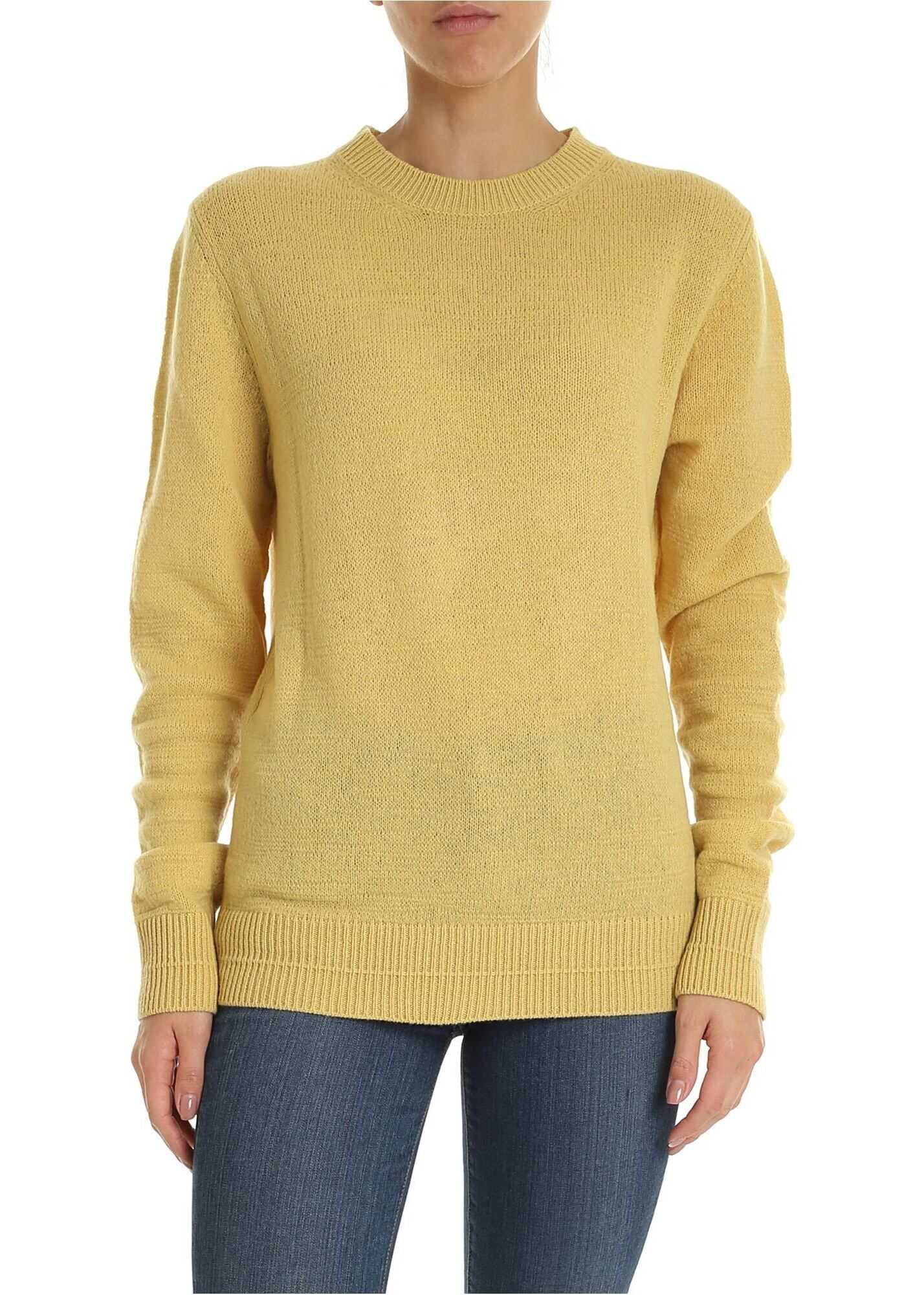 Marc Jacobs Runway Marc Jacobs Pullover In Yellow Yellow