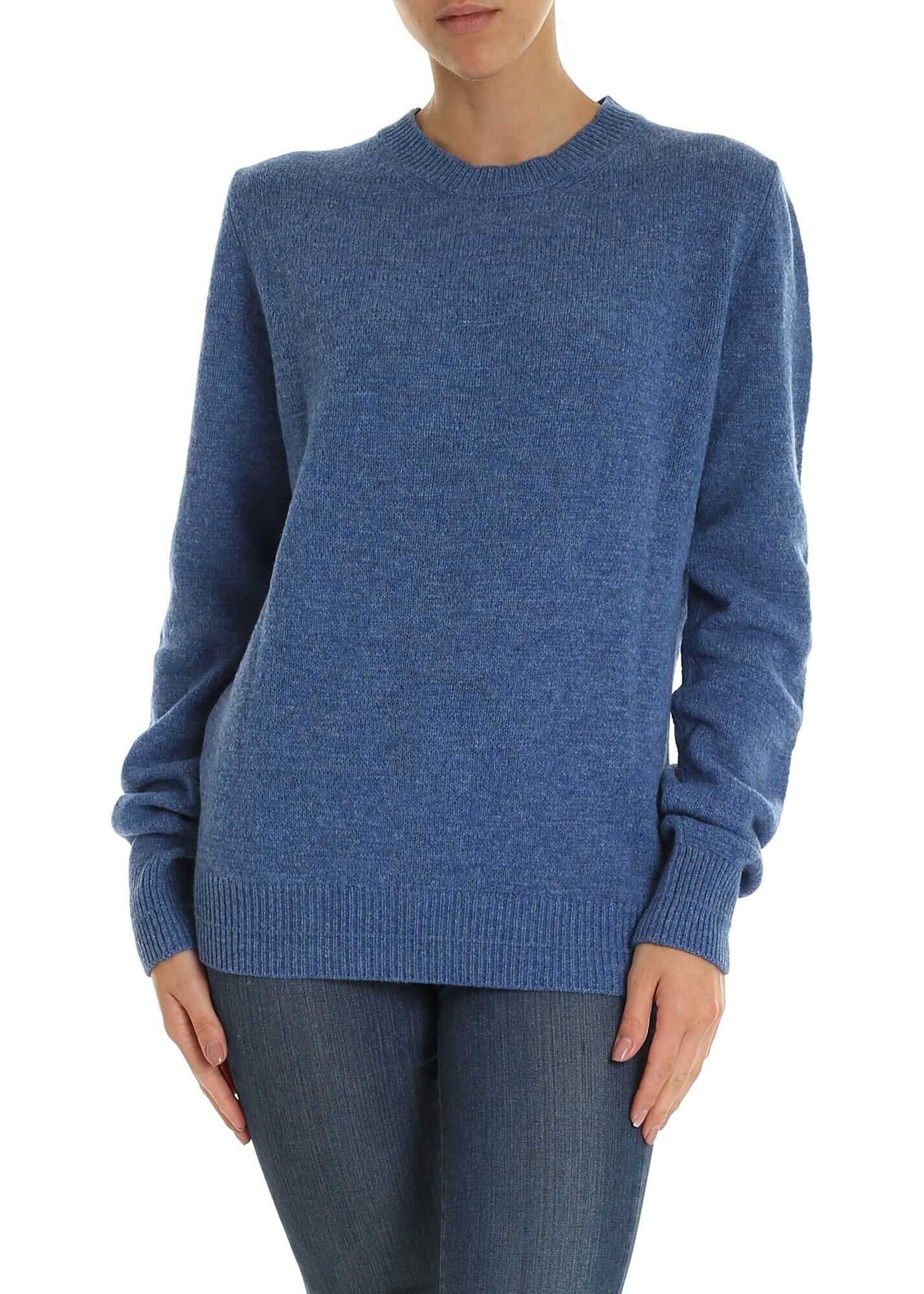 Marc Jacobs Runway Marc Jacobs Pullover In Blue Blue