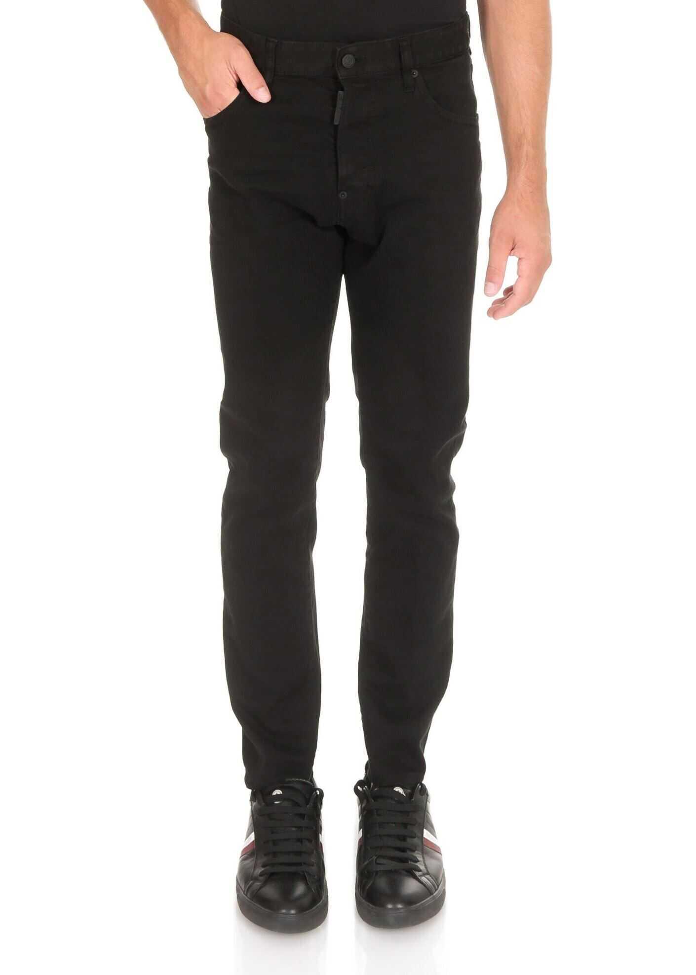 DSQUARED2 Sexy Mercury Jean In Black Black