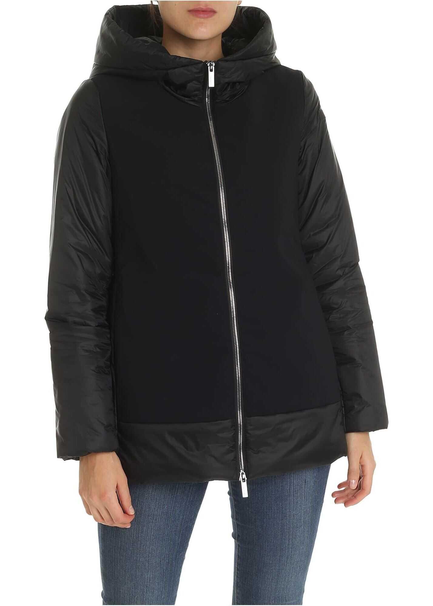 RRD Roberto Ricci Designs Thermo Hybrid Zarina Down Jacket In Black Black