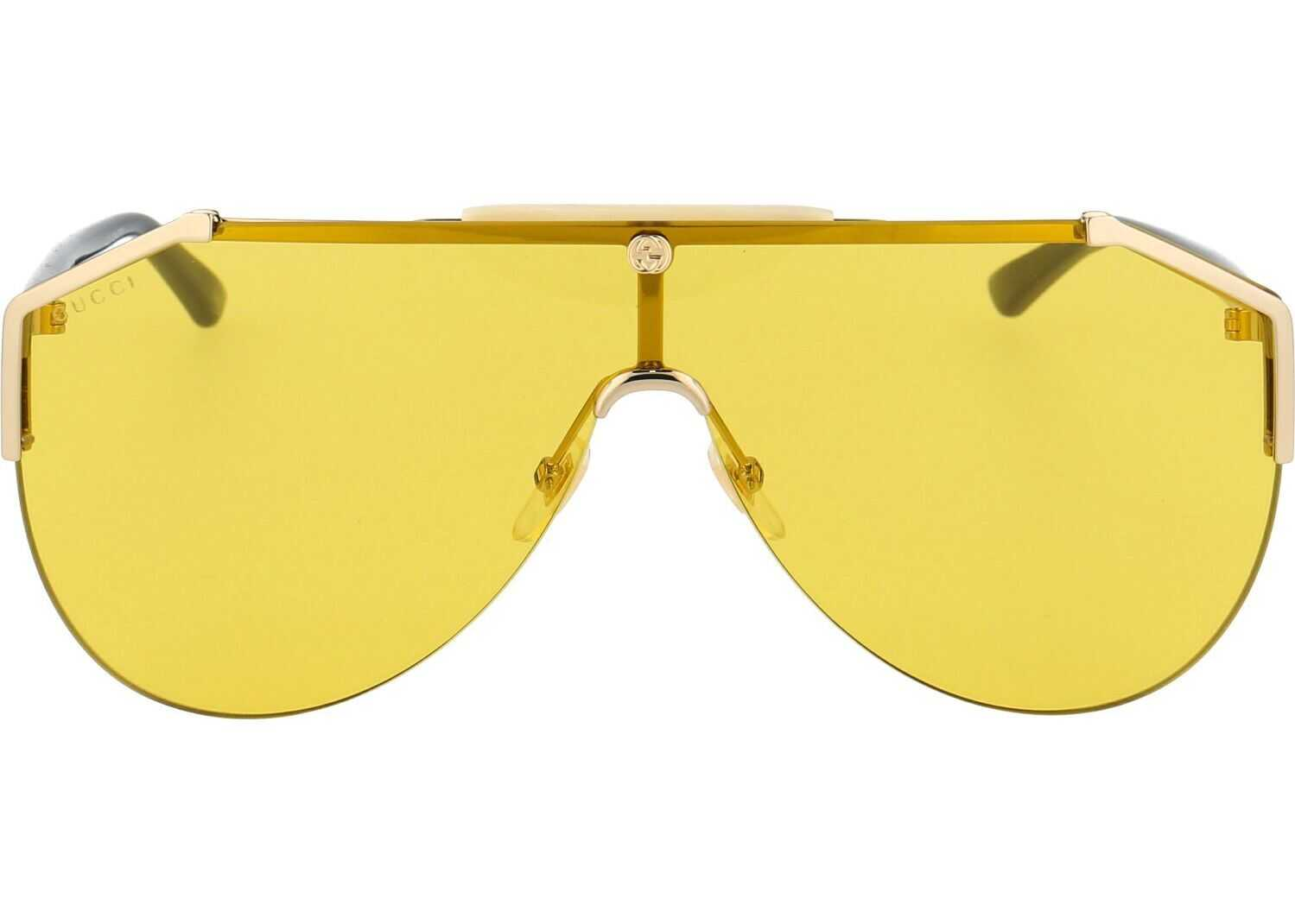 Gucci Metal Sunglasses YELLOW