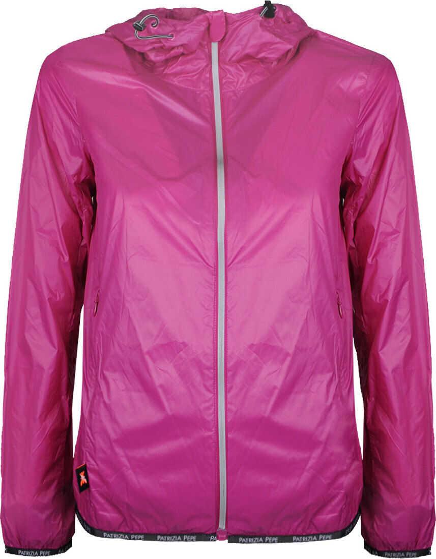 Patrizia Pepe Sport Jacket SS0019/A3IR Fioletowy