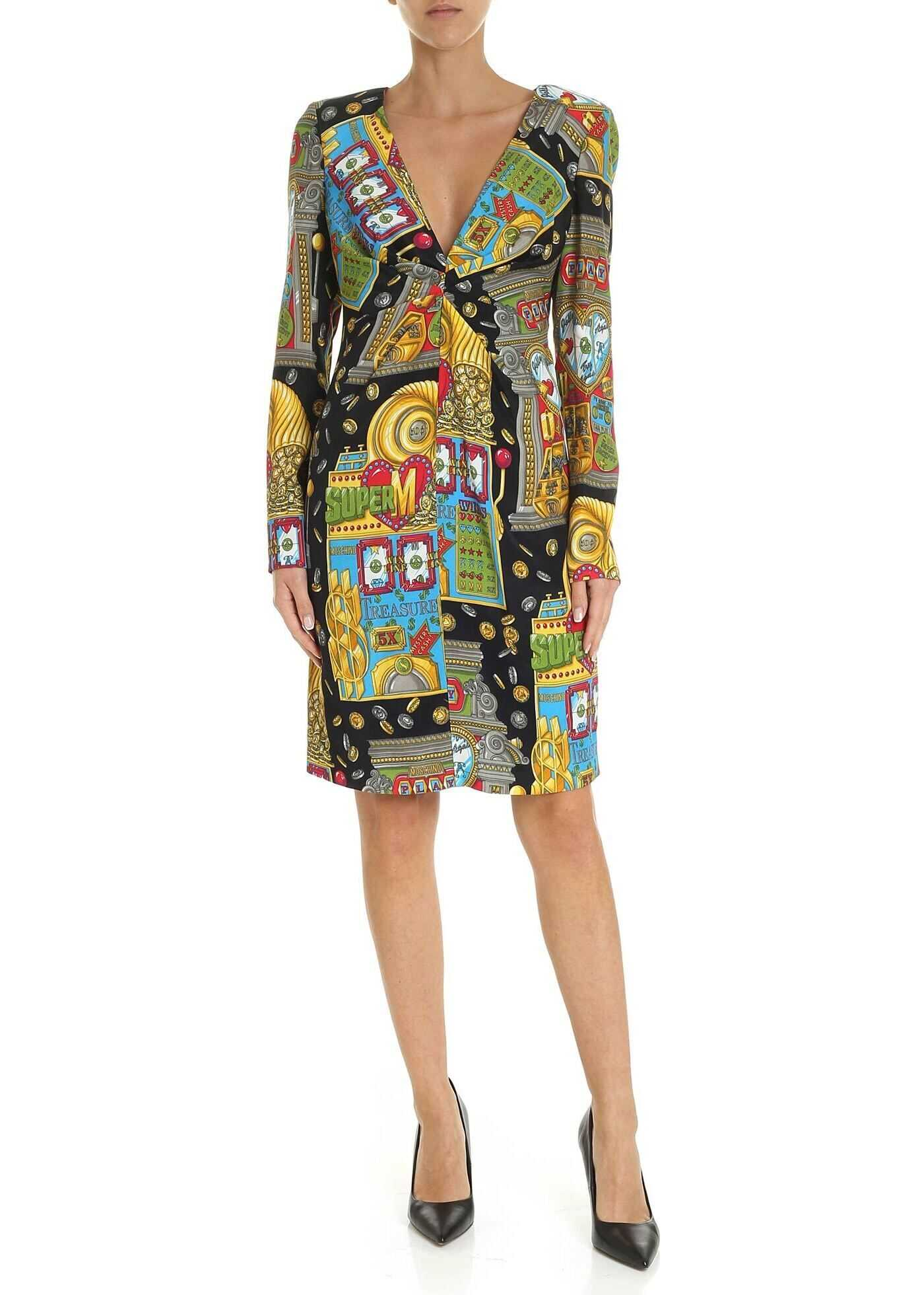 Dress In Multicolor Twill Slot Machine thumbnail