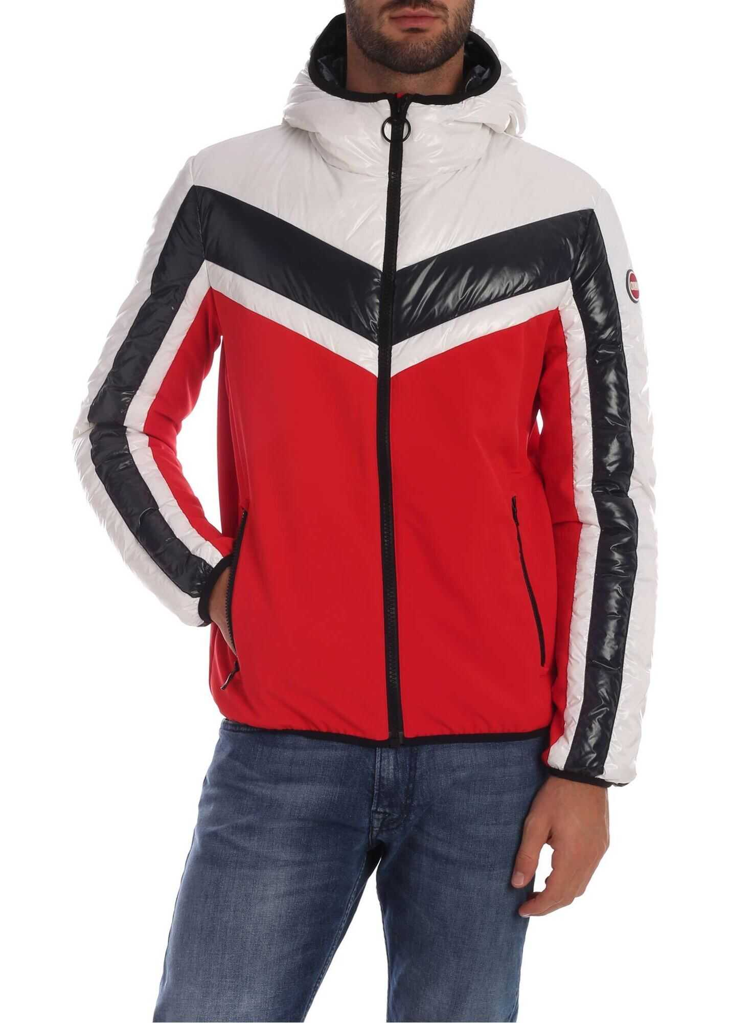 Colmar Surrender Down Jacket In Red Red