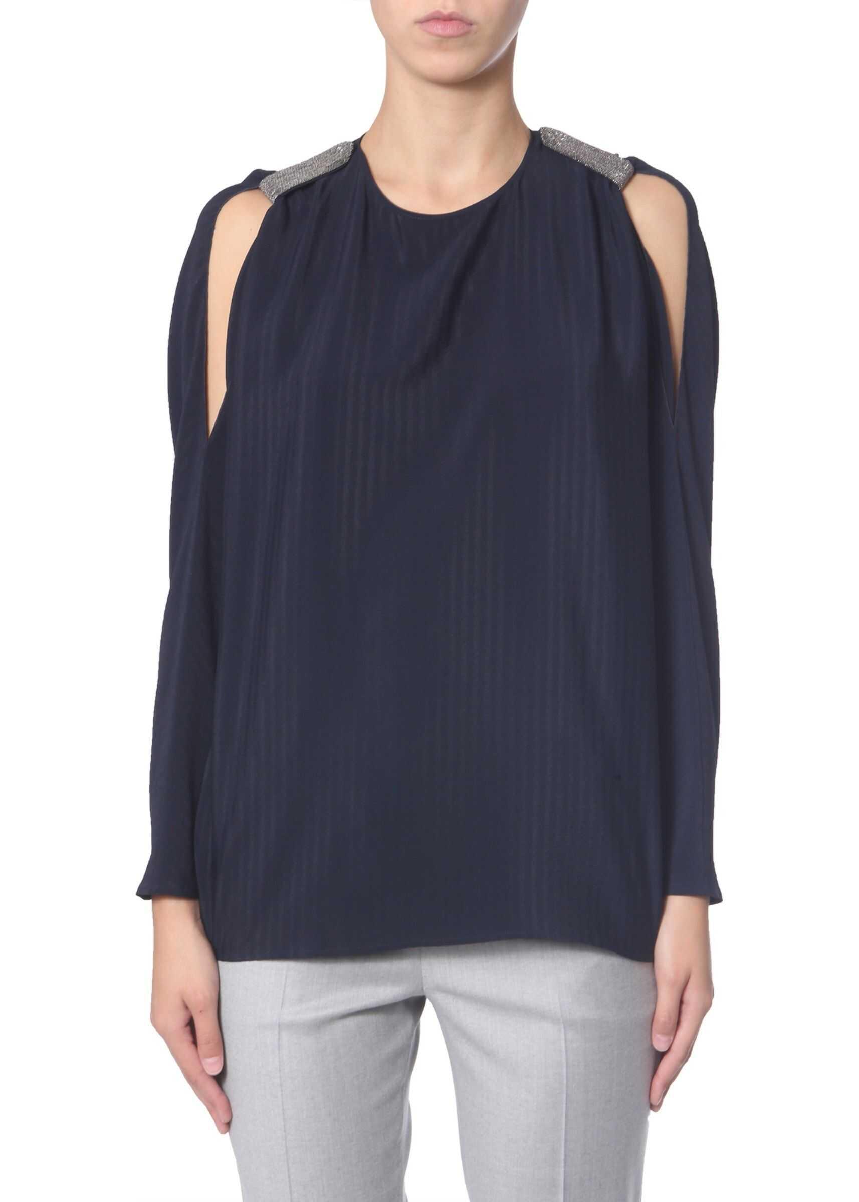 Fabiana Filippi Silk Blouse BLUE