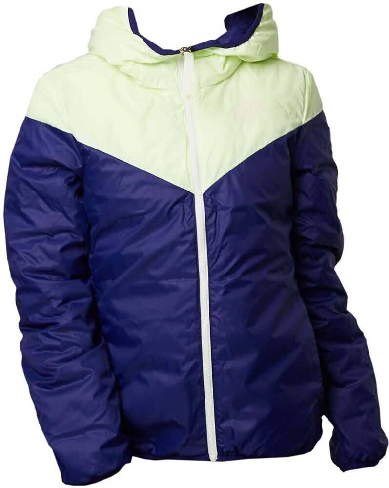 Nike Wmns Windrunner Down Fill Jacket Rev 939438 ALBASTRU MARIM