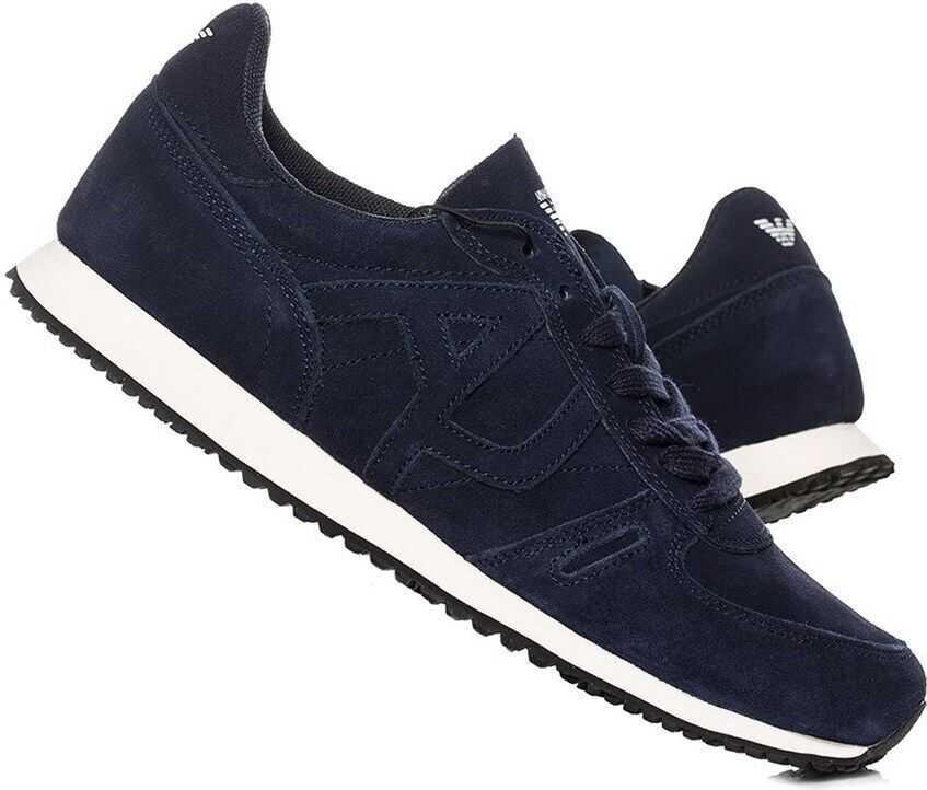 Armani Sneaker Low Cut 9350277P44336435 ALBASTRU MARIM