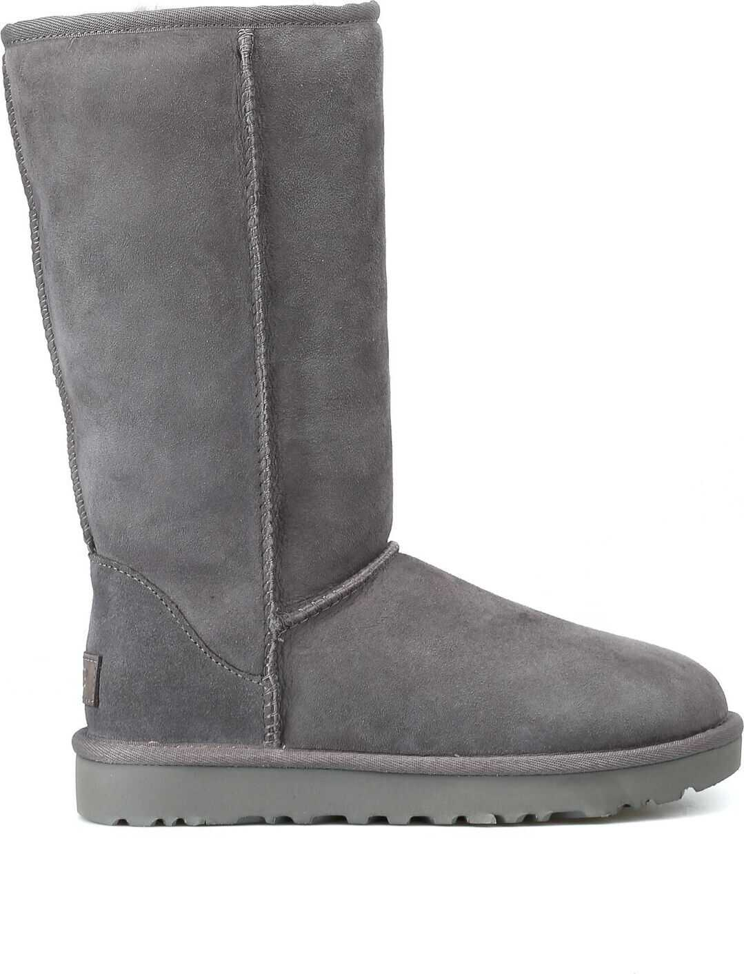 UGG Leather Boots GREY