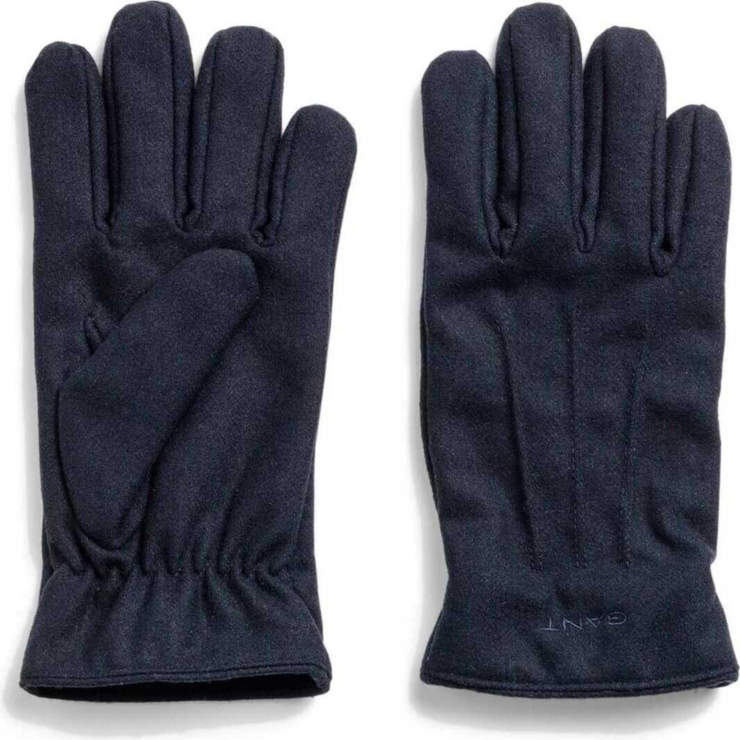 GANT Wool Gloves BLUE