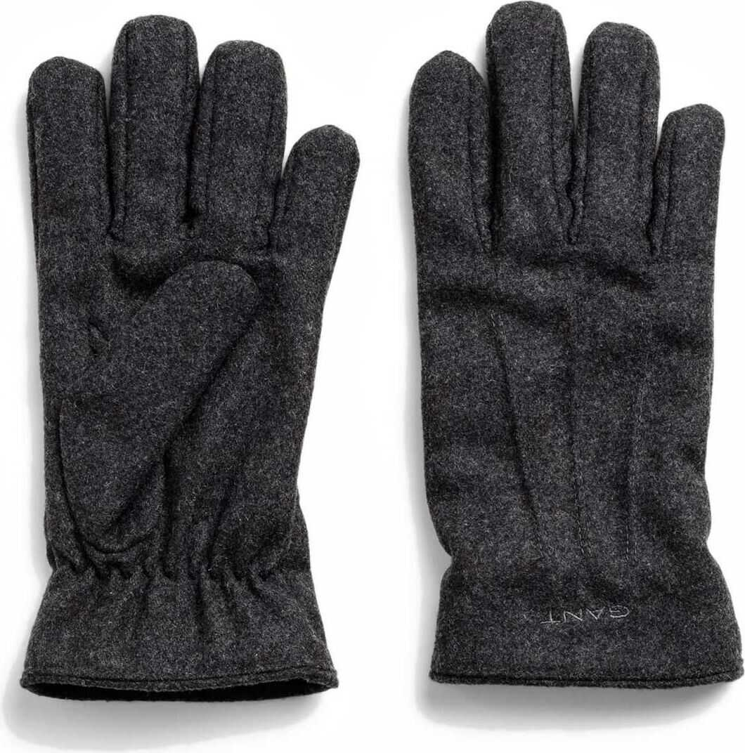 GANT Wool Gloves GREY