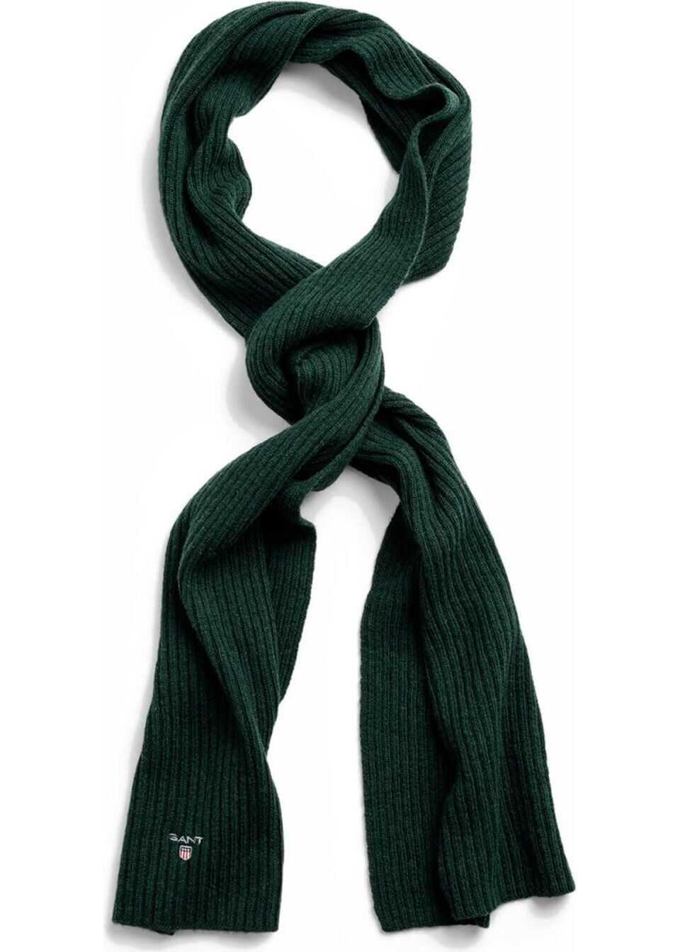 GANT Wool Scarf GREEN