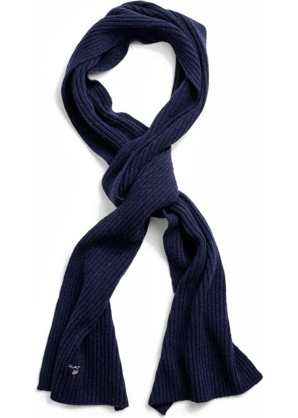 GANT Wool Scarf BLUE