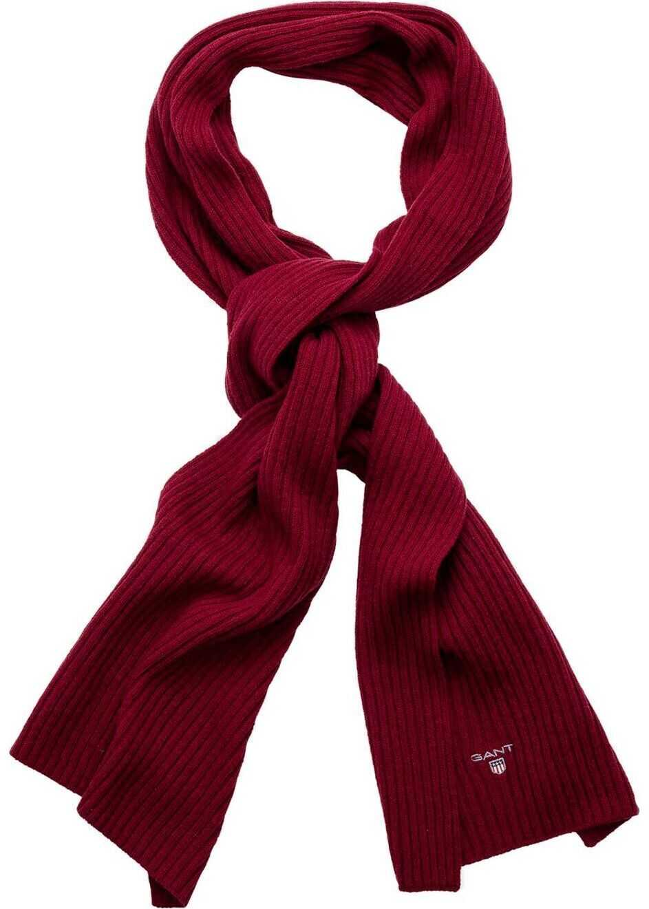GANT Wool Scarf RED