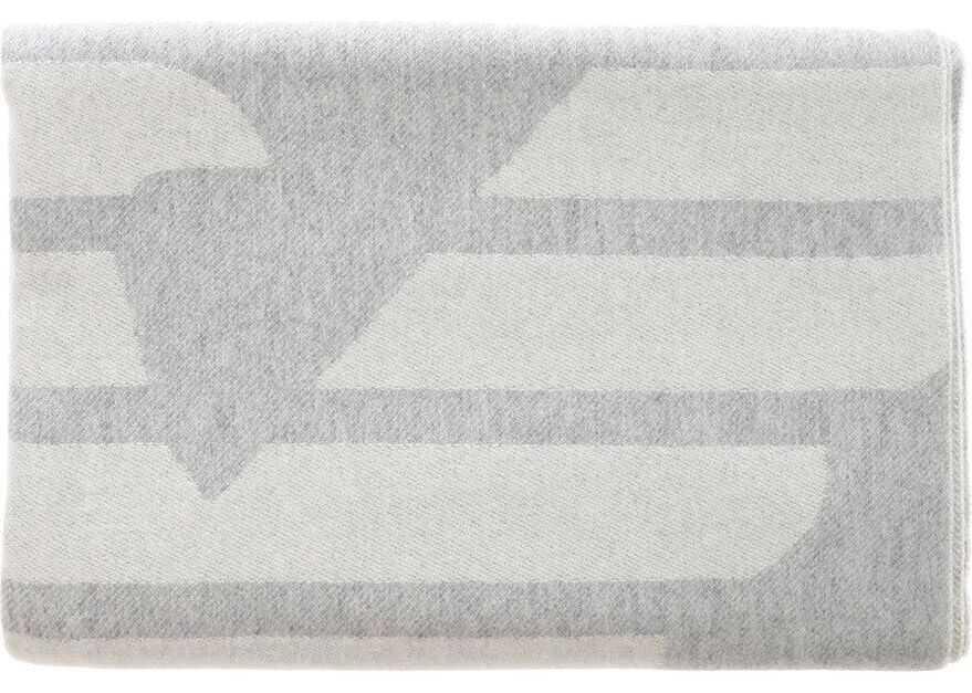 Emporio Armani Wool Scarf GREY