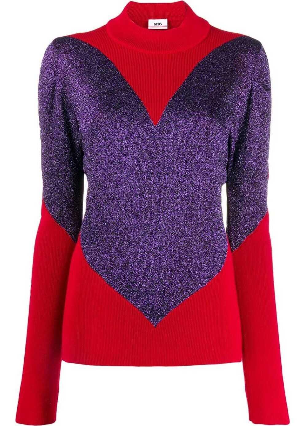 GCDS Wool Sweater MULTICOLOR