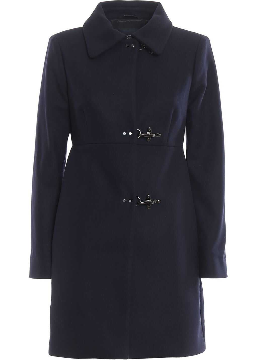 Fay Wool Coat BLUE