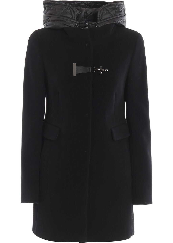 Fay Wool Coat BLACK