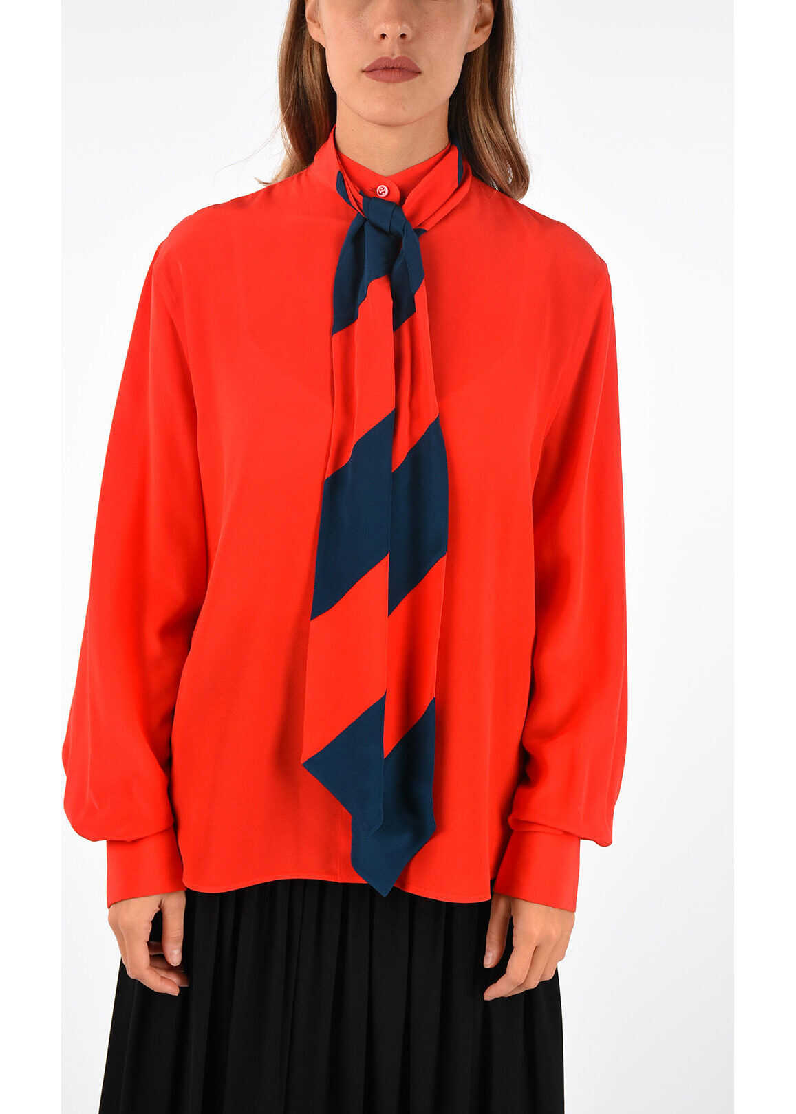 Givenchy Silk blouse RED