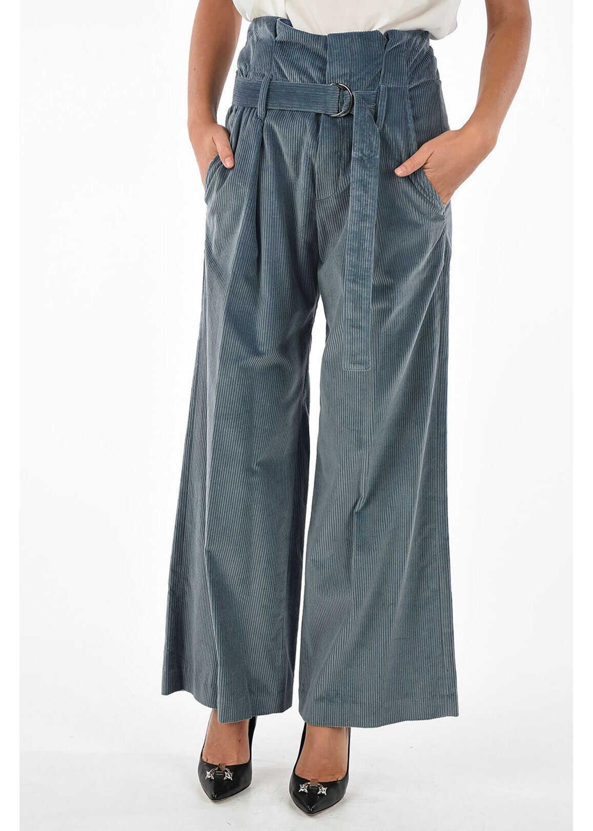 Corduroy Wide Leg Pants thumbnail