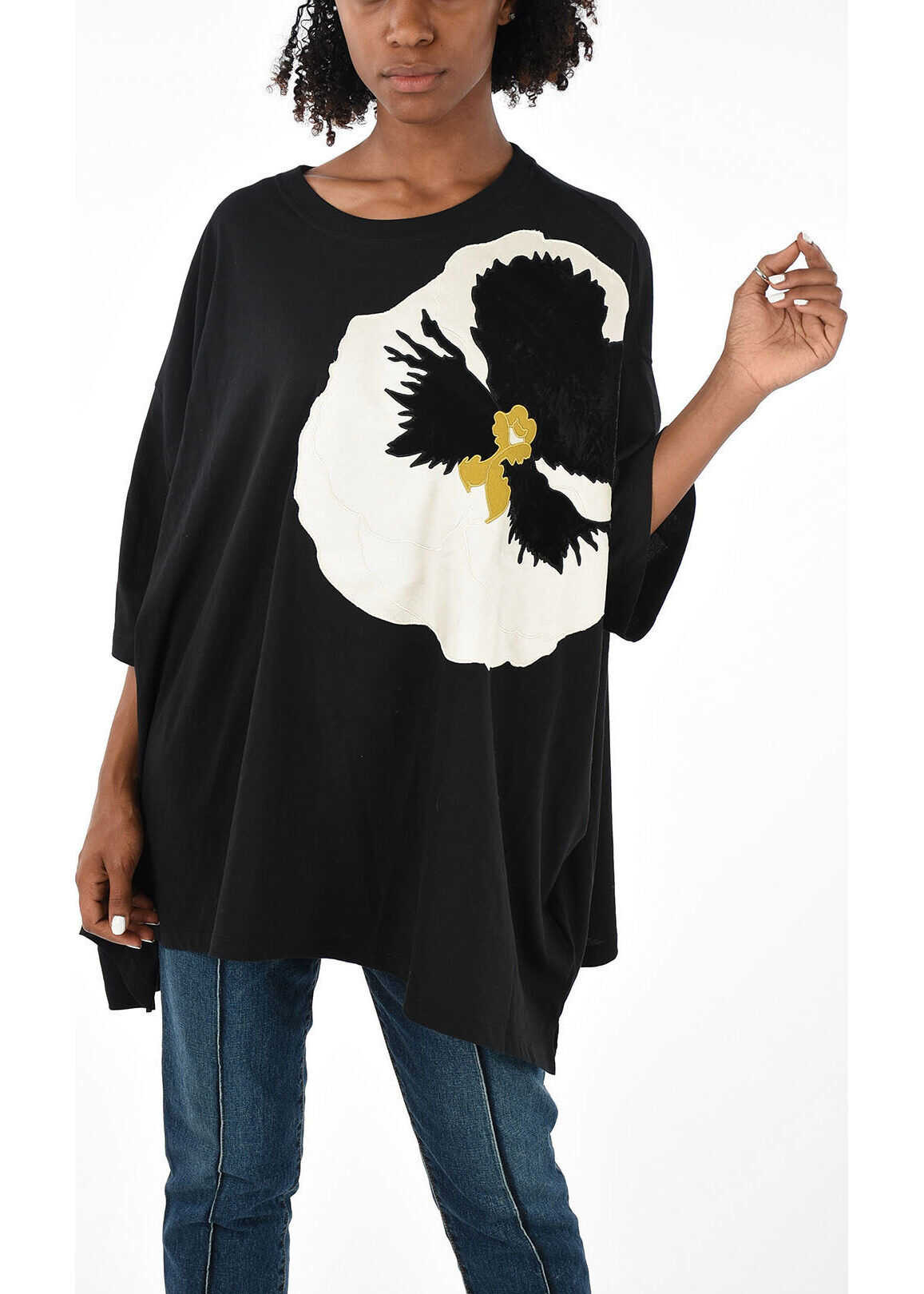 Embroidered Maxi T-shirt
